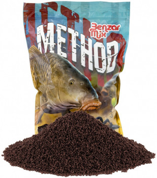 Методный пеллетс Benzar Mix Method Pellets Krill 2mm 800g