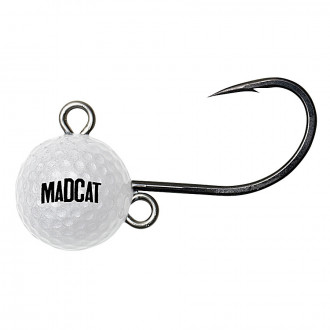 Джиг-головка DAM MADCAT Golf Ball Hot Ball 120гр. 1шт./уп