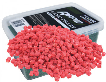Методный микро-пеллетс Feeder Competition Rapid Method Micro Pellets 2,5mm 300g Strawberry