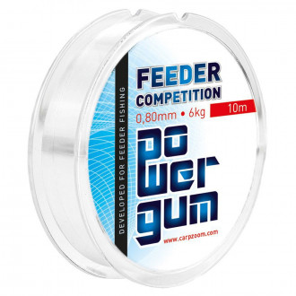 Фидерная резина Feeder Competition Power Gum 0,60mm 4,00kg 10m